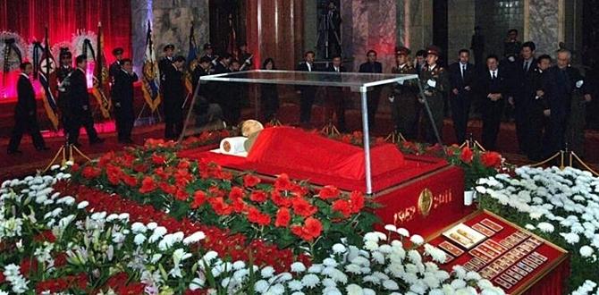Tabuttaki Kim? – Kuzey Kore lideri Kim 'mi?, fotoğraf paylaşıldı!