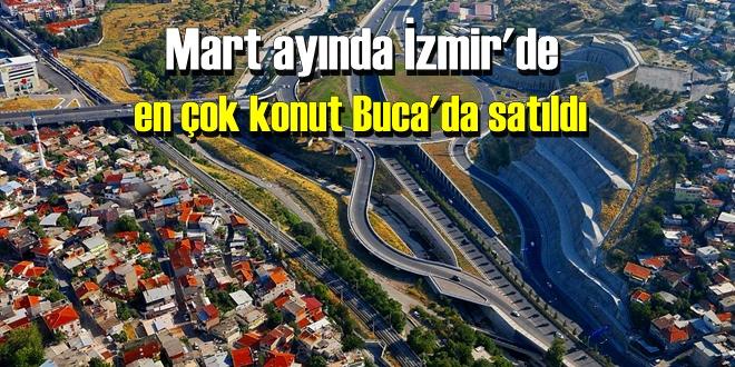 Mart ayında İzmir'de en çok konut Buca'da satıldı
