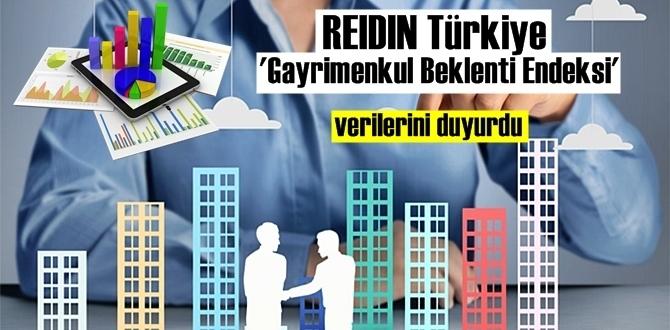 REIDIN Türkiye Gayrimenkul beklenti Endeksi verilerini açıkladı.