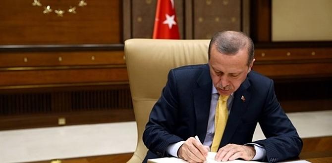 Başkan Erdoğan imzaladı, İl Müftü Atama kararnamesi yürürlüğe girdi.