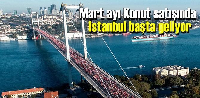 Mart ayında en çok Konut Satışı 12.409 konut ile İstanbul başta geliyor.