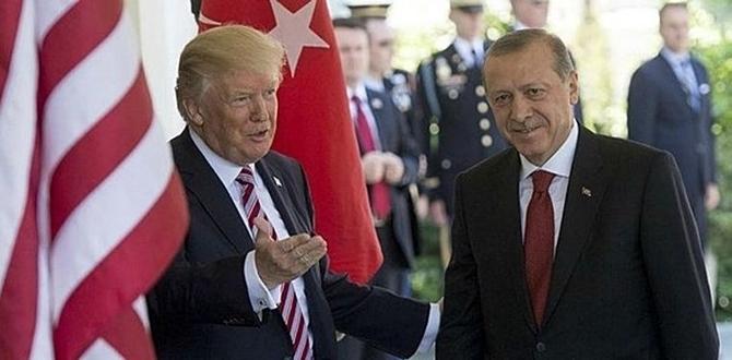 ABD'ye gönderilen tıbbi malzemeler ile birlikte, Başkan Erdoğan'dan Başkan Trump'a Mektup