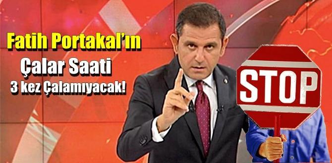 Fatih Portakal'ın Çalar Saati 3 kez Çalamıyacak!. programa durdurma cezası!.