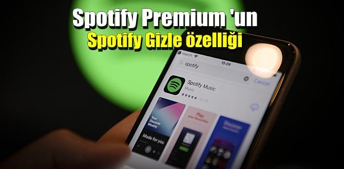 Spotify Premium kullanıcılarını Mutlu edecek güzel bir özellik.