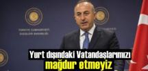 Türkiye'ye dönmek isteyen vatandaşlarımızı Ramazan Öncesi getirmeyi hedefliyoruz