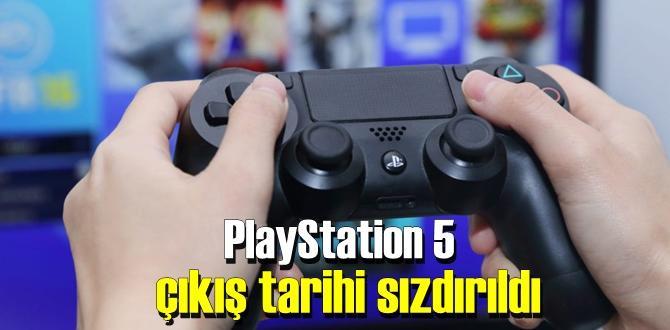 Sony'nin PlayStation 5'inden haber var – çıkış tarihi sızdı!