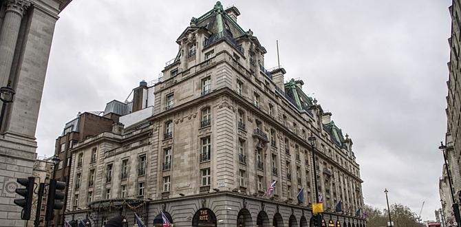 Dünyaca ünlü The Ritz Oteli 800 milyon sterlin gibi rekor fiyata Satıldı!