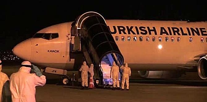 Yurtdışından yeni getirilen 118 Türk Vatandaşımız Erzurum'da bazı yurtlara kondu.