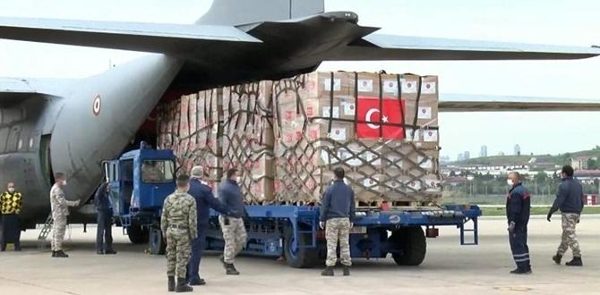 Türkiye'den ABD'ye ikinci Tıbbi yardım yolda!