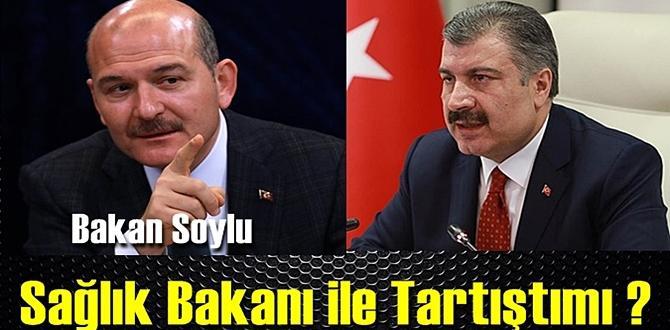 Bakan Soylunun istifası ile farklı bir iddia;Sağlık Bakanı ile Tartıştımı ?.