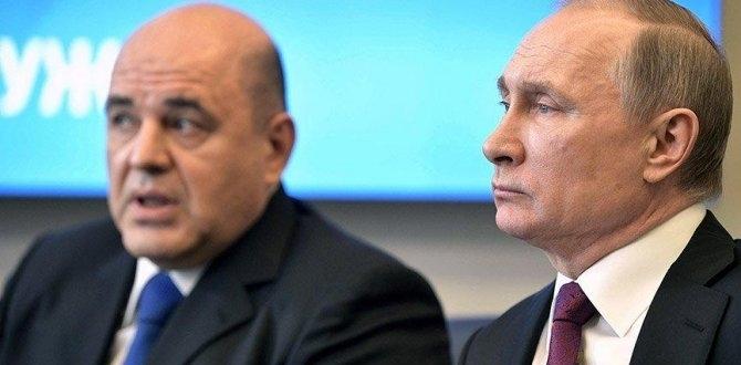 Putinin Başbakanı Mişustin'in, Koronavirüs testi pozitif çıktı!