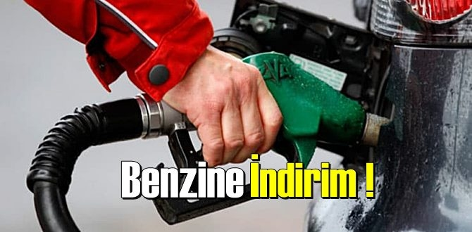 Benzine bugün (13 mayıs) 00.00'dan itibariyle 19 kuruş indirim bekleniyor!
