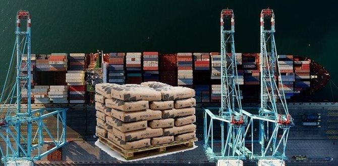Çimento ihracatında yüzde 37'lik artış!