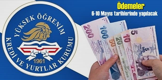 2020 Mayıs ayı burs ve kredi ödeme tarihi belli oldu! tarih 6-10 Mayıs.