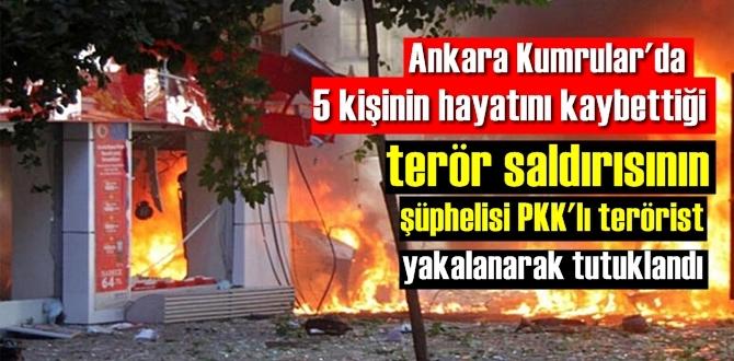 5 kişinin hayatını kaybettiği alçak Saldırının şüphelisi , PKK'lı terörist Yakalandı!