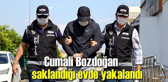 Çete örgütünün son üyesi Cumali Bozdoğa, Villada kıskıvrak yakalandı!