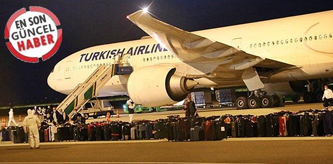 Türk Hava Yolları'na ait uçak ile ABD'den 296 TÜRK VATANDAŞI Türkiye'ye getirildi.