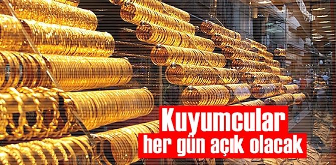 İzmir'de kuyumcular haftanın 5 günü İş yerlerini açabilecek!