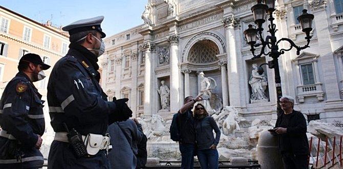 İtalya'da Korona Ölümlerinde düşüş devam ediyor!