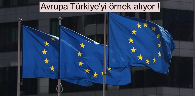 Avrupa Türkiye'yi örnek alıp bağış çağrısında bulundu!