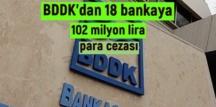 BDDK, kuruma iletilen şikayetleri inceledi, haksız bulunan 18 bankaya Ceza Kesti!