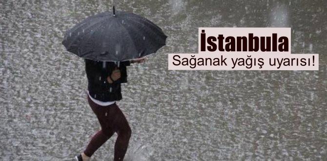 Bu gece /04.05.2020/ saatlerinden itibaren İstanbula Sağanak yağış uyarı!