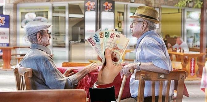 65 yaş ve üstü Emeklilere güzel haberlerimiz var!