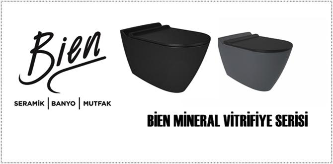 Bien Mineral Vitrifiye serisi ile Banyolarınız renklensin!