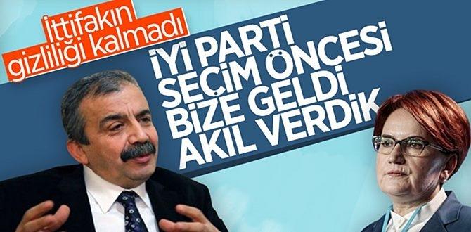 HDP'li Önder: İyi Parti'yi kastediyorum! Seçimden Önce bizden fikir alışverişinde bulunmadılarmı!
