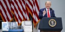 Çinli muhabirin sorusuna öfkelenen Başkan Trump Basın toplantısını terk etti!