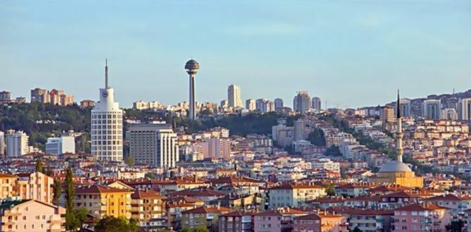 Salgın sürecinde Ankara'da da konut satışları düştü.