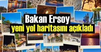 Turizm Yol haritasını Bakan Mehmet Nuri Ersoy açıkladı!
