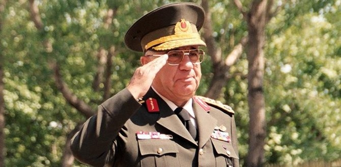Türk Silahlı Kuvvetleri'nin 22'nci Genelkurmay Başkanı vefat etti.