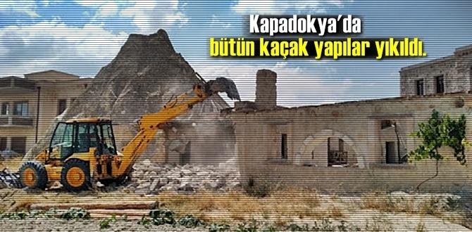 Türkiye'nin turizm bölgelerinde kaçak yapılaşmaya göz açtırılmıyor