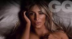 Kim Kardashian GQ dergisi için soyundu!