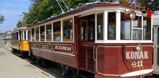 İzmir'de Nostaljik Tramvay Projesi hayata geçirelecek!