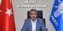 AK Parti Şanlıurfa İl Başkanı Bahattin Yıldız'ın Korona testi pozitif çıktı!