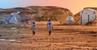 insanları uzun Mars yolculuğunda taşıyabilecek roketler üretildi!