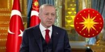 Cumhurbaşkanı Recep Tayyip Erdoğan, 2020 Kurban Bayramı mesajı yayınladı.