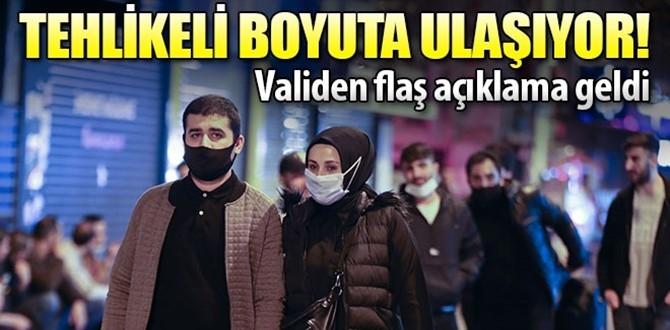 Vali Gül'den açıklama : Çok Kaygı verici!