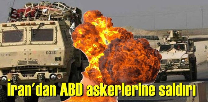 Irak'ta Amerikan askerlerine ait konvoya saldırı düzenlendi!