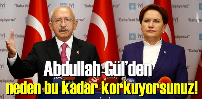 """Kemal Kılıçdaroğlu, yine bombayı patlattı: """"Abdullah Gül'den neden bu kadar korkuyorlar""""!"""