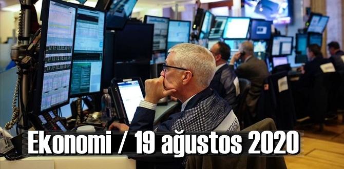 Ekonomi / 19 ağustos 2020 Çarşamba / Dolar-Euro güne nasıl başlayor!