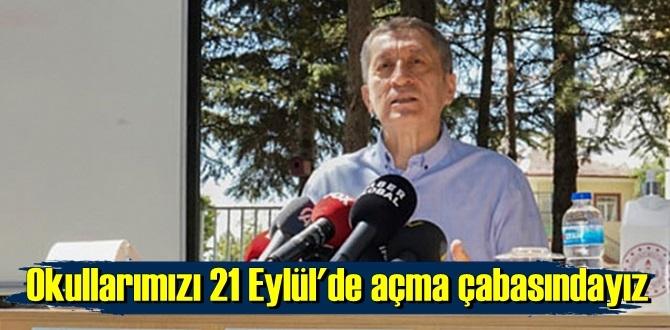 Bakan Ziya Selçuk, Okulların açılacağı tarihi açıkladı ve 21 Eylül dedi !