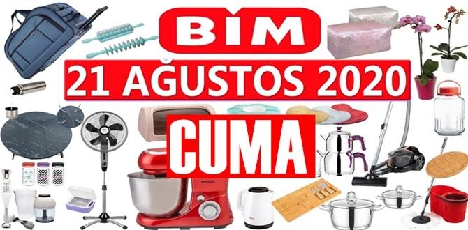 Bugün 21 Ağustos 2020/ BİM aktüel ürünler kataloğu açıklandı!