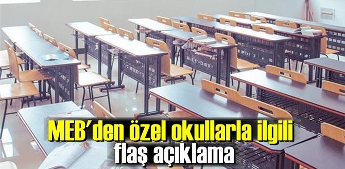2020-2021- Özel Okullarla ilgili yeni bir açıklama daha geldi!