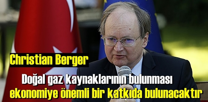 AB Türkiye Delegasyonu Başkanı, Türkiye'nin doğal gaz rezervi keşfini değerlendirdi.