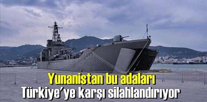 Yunanistan'ın adalarında'ki Silahları Türkiye'ye karşı potansiyel bir tehdit !