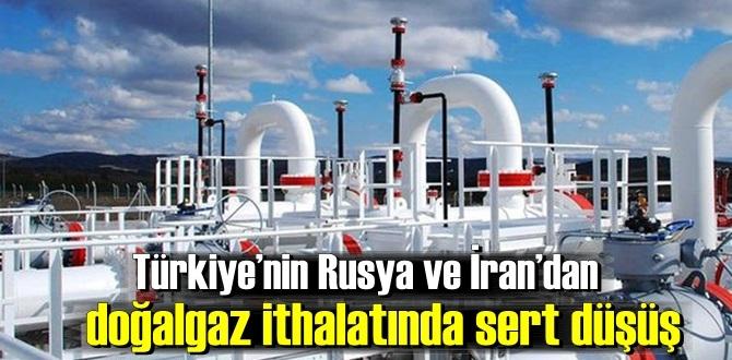 Türkiye doğal gaz ithalatında geçen seneye kıyasla neredeyse yüzde 50'ye yakın geriledi!