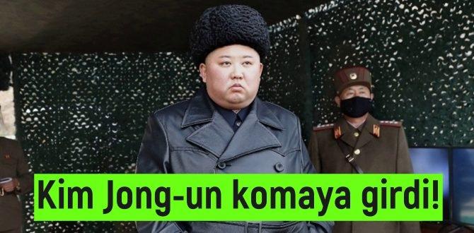 Kim Jong-un hastalığı yüzünden komaya girdiği iddia edildi!